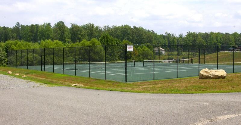 Common Area Tennis Courts